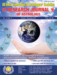 Health and Disease : An Astrological Analysis