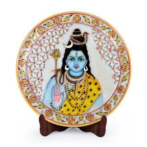 lord-shiva-designer-marble-plate