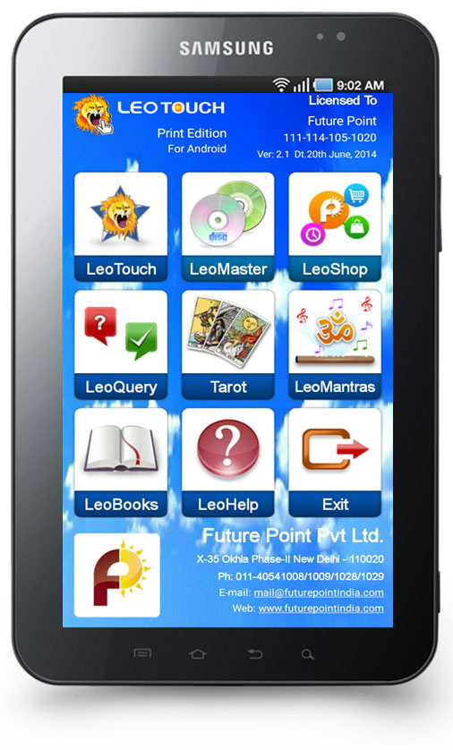 mobile astrology software