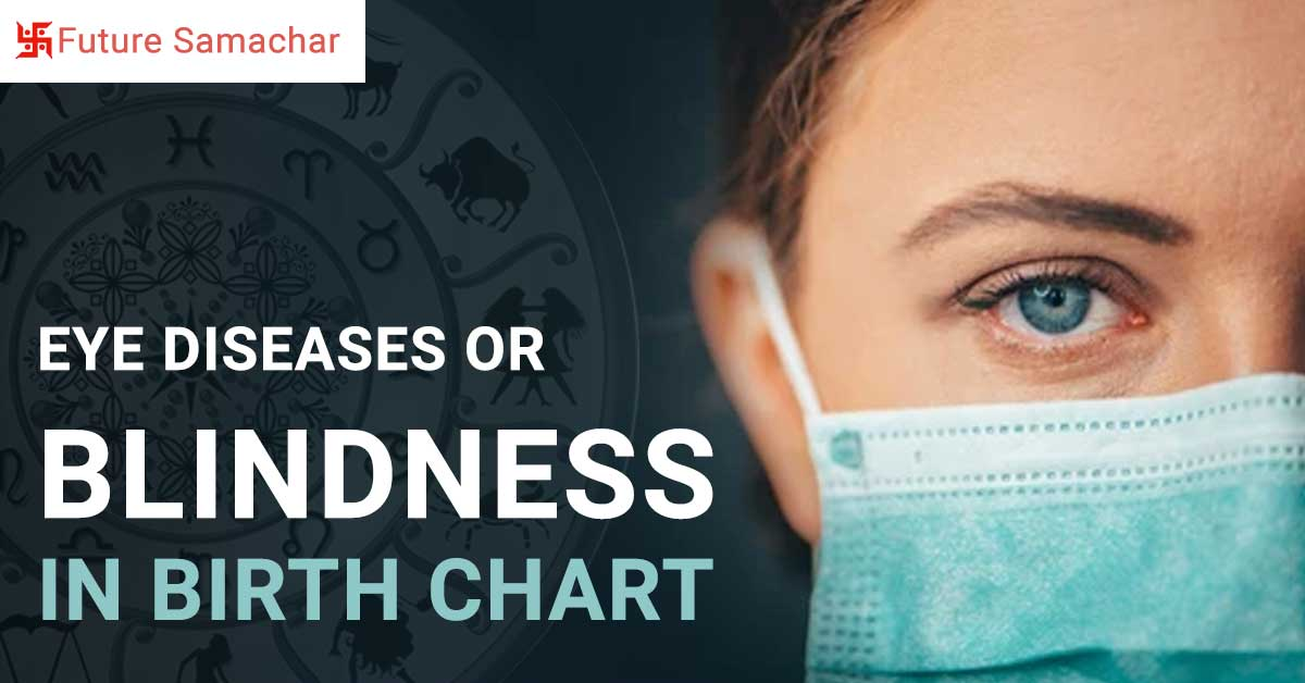 Eye diseases or Blindness in Birth Chart