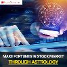 Make fortunes in Stock Market through Astrology